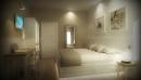 porte per hotel Render progetto camera