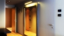 porte per hotel porta bagno e porta camera in legno