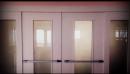 Porte su misura per alberghi Porte EI 60 a vetro laccata