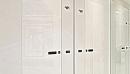 porte rei30 rei60 a filo anta laccata lucida colore bianco