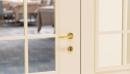 Porte ei60 2 ante con specchiata inglese chiudiporta incassato gemellare